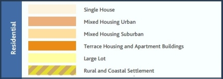Auckland Unitary Plan, Residential Zones